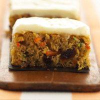 Eat your Veggies ... Carrot and Zucchini Bars