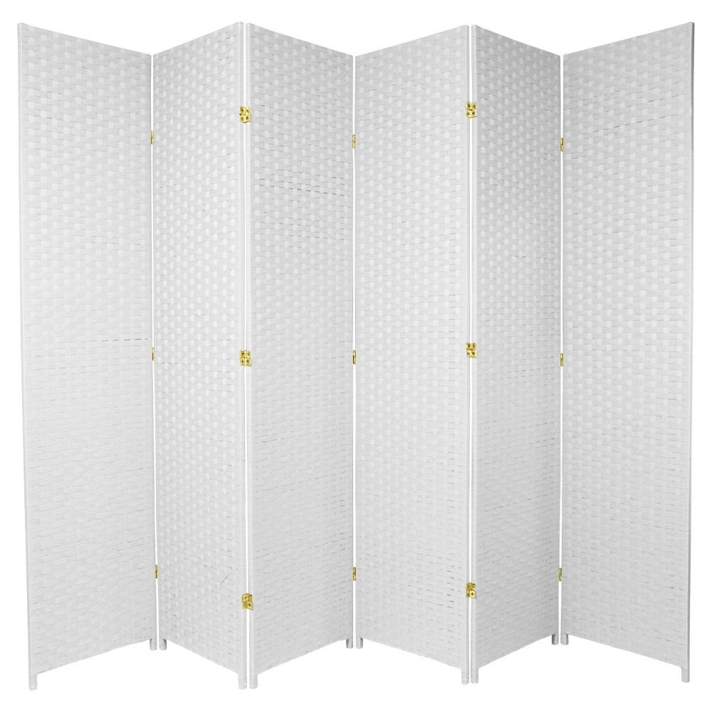 7 Ft Tall Woven Fiber Room Divider Fabric Room Dividers Bamboo Room Divider Room Divider