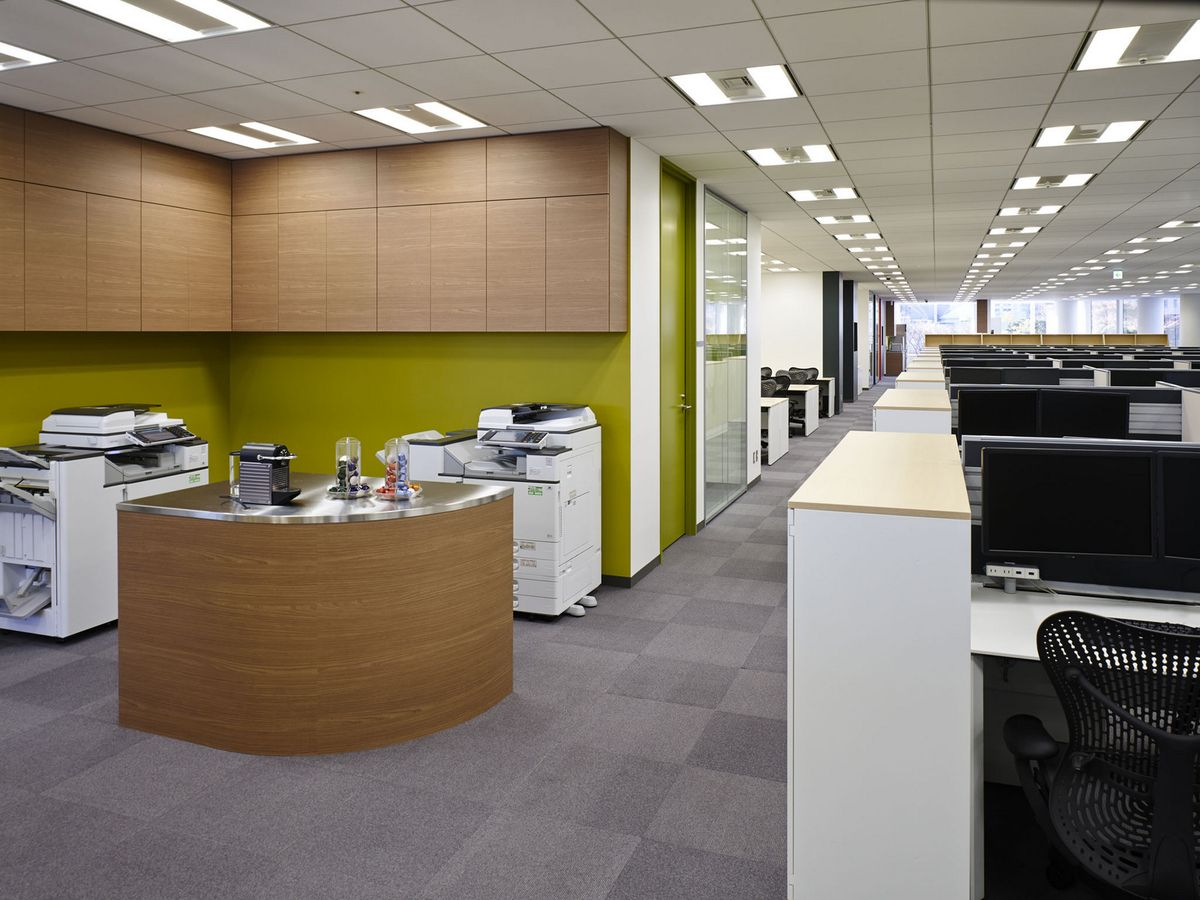 Nbc Universal Office Design 3 Office Snapshots Office Wall Design Cheap Office Furniture Office Floor Plan