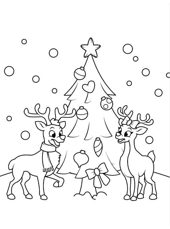 Kids N Fun Com Coloring Page Christmas Kids Christmas Kids Ausmalbilder Weihnachten Weihnachtsmalvorlagen Weihnachtsausmalbilder