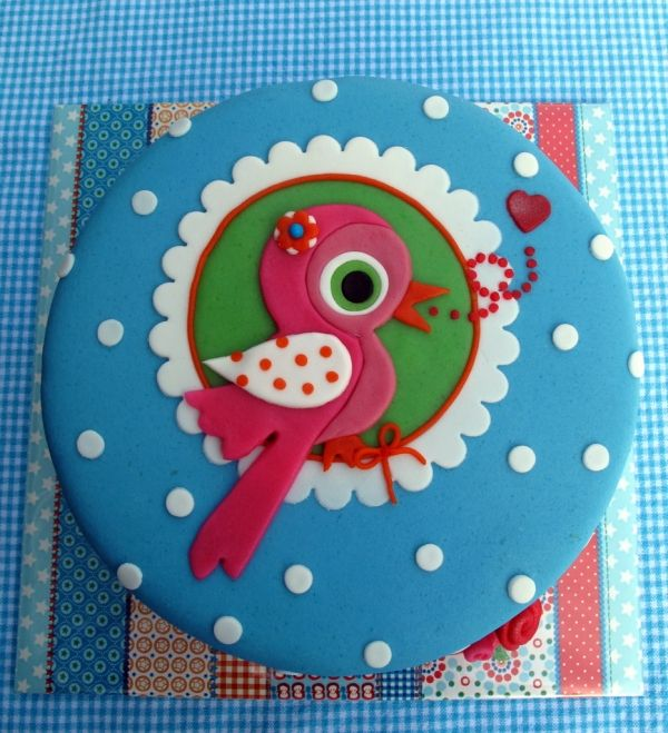 Little bird for teachers birthday