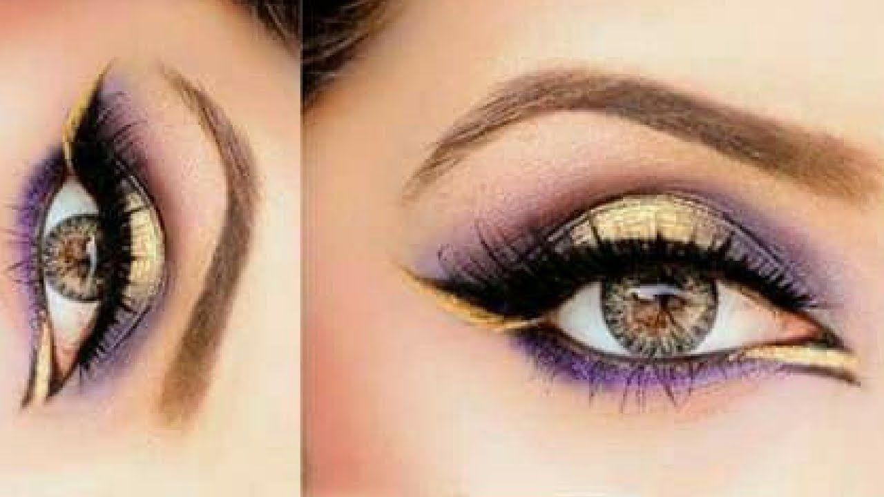 Easy Glam Eye Makeup Tutorial Beginners Smokey Eye 7 Make Up