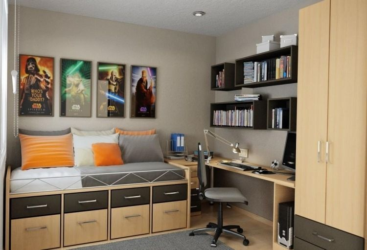 Petite chambre ado en idées fascinantes pour votre enfant