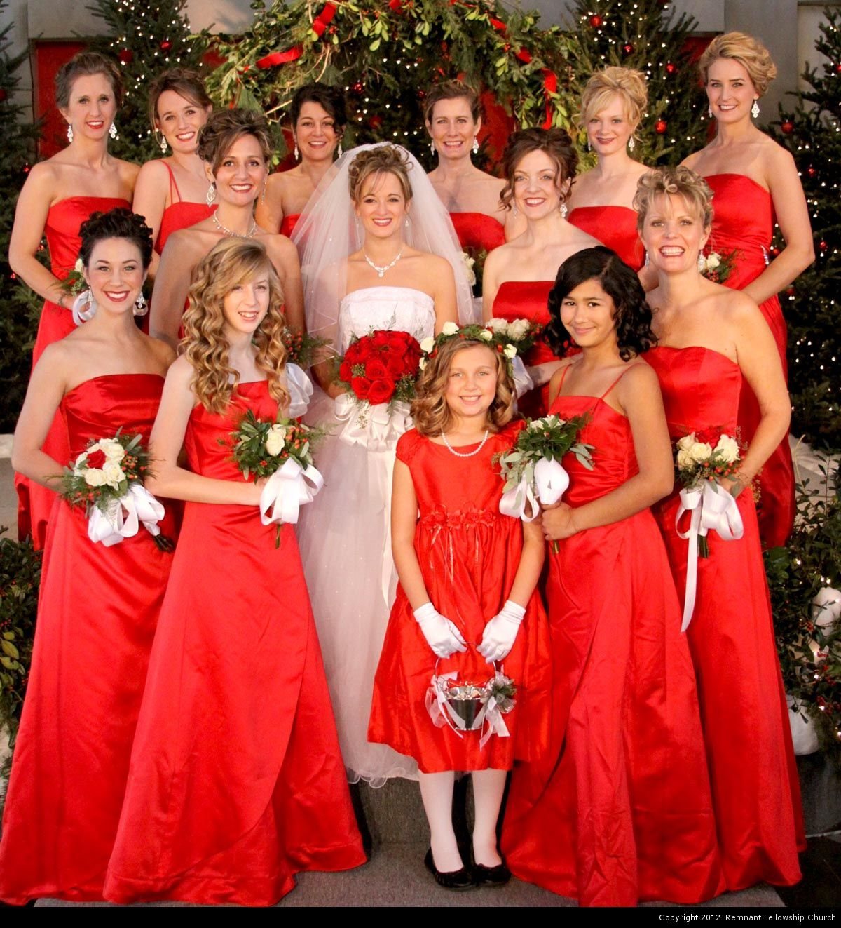 Long red bridesmaid dresses perfect for a winter wedding long red bridesmaid dresses perfect for a winter wedding ombrellifo Images