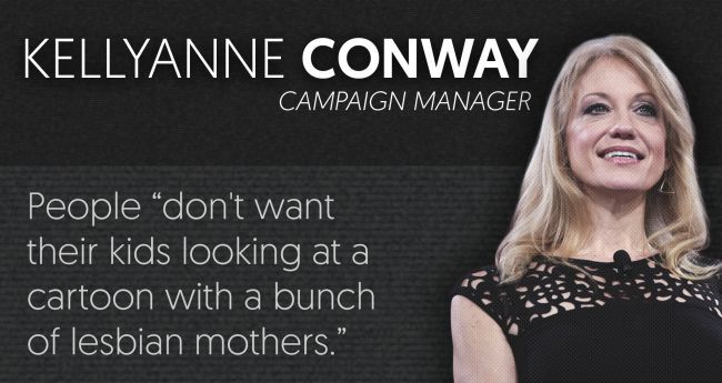 These are the people that Donald #Trump turns to for advice. If you're not hearing about the crazy stuff they've said, that's a problem. #nevertrump #dumptrump #hillary2016 #trumppence16 #imwithher #kellyanneconway https://mediamatters.org/blog/2016/08/17/trump-s-kitchen-cabinet-continued-what-media-needs-know-about-nominee-s-top-advisers-and-supporters/212477