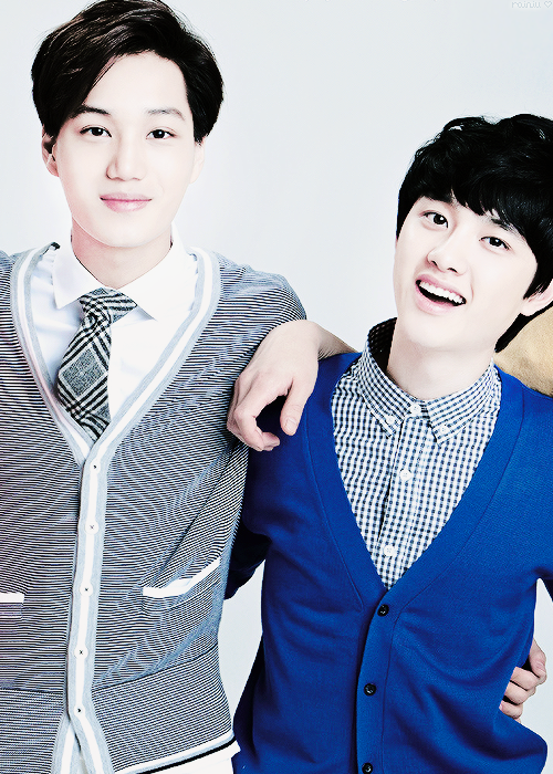 Kaisoo <3 cause I ship the dancer and the vocalist :)