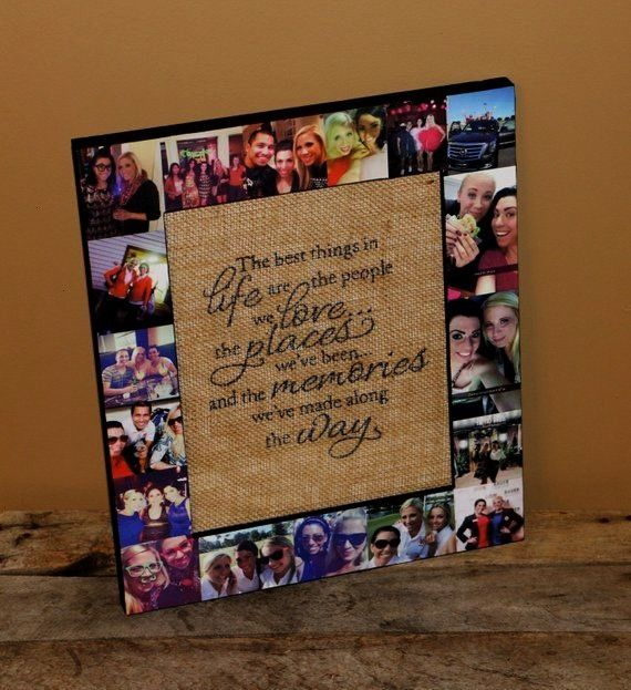 Friend Photo Frame  Best Friend Gift  Girls Night Out Gift  Girls trip  Remembrance Trip  All girls Weekend  girlfriend gift Best Friend Photo Frame  Best Friend Gift  Gi...