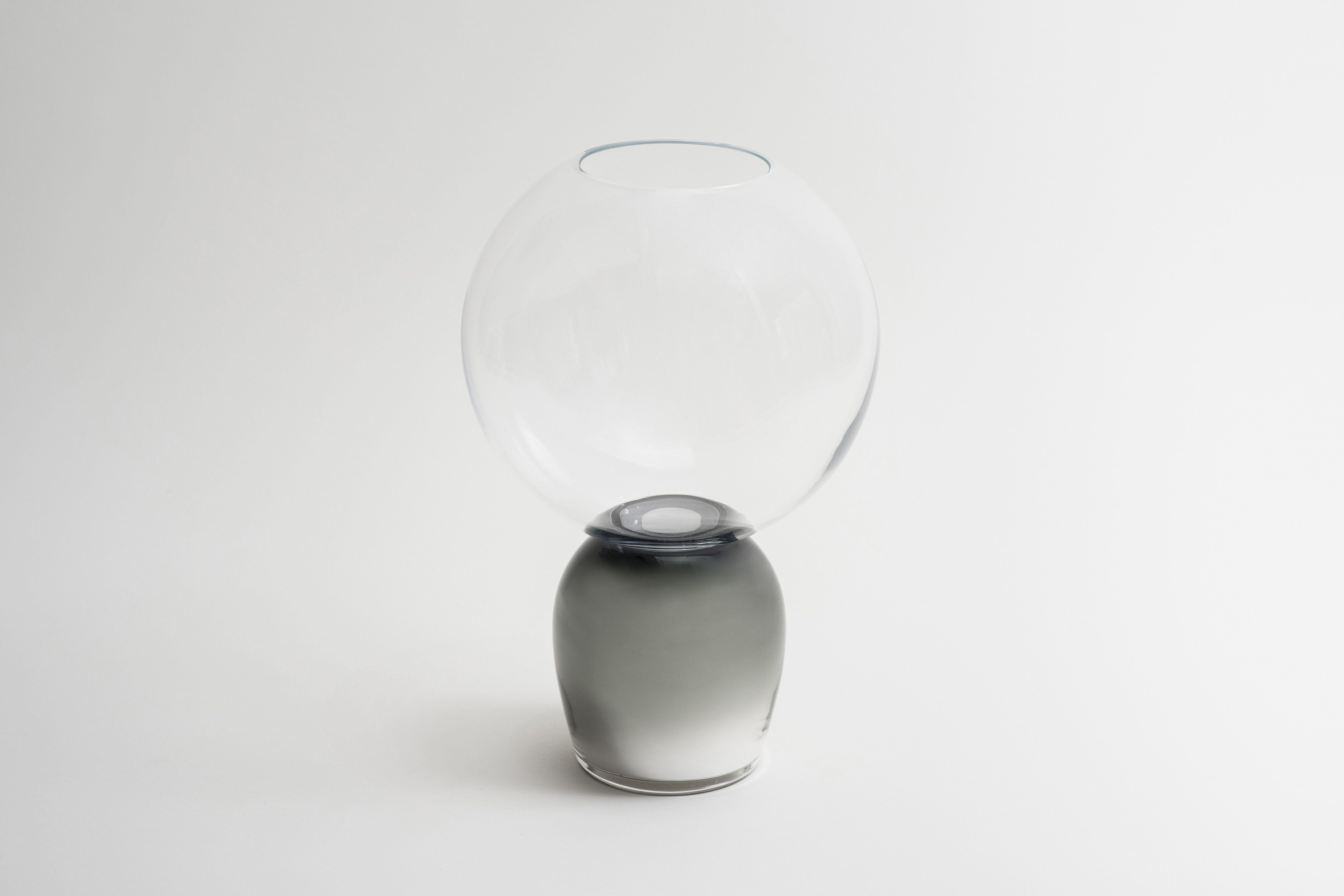 Reverso Vase - Smoky Grey
