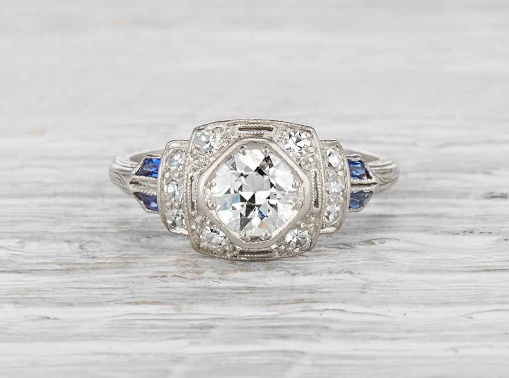 Photo of .65 Carat Art Deco Engagement Ring