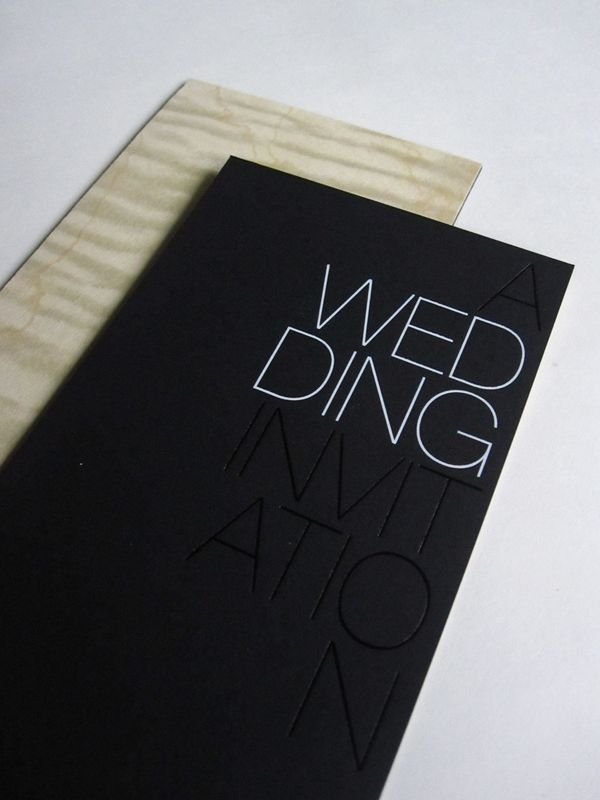 modern foil stamp wedding invitations - Modern Wedding Invites
