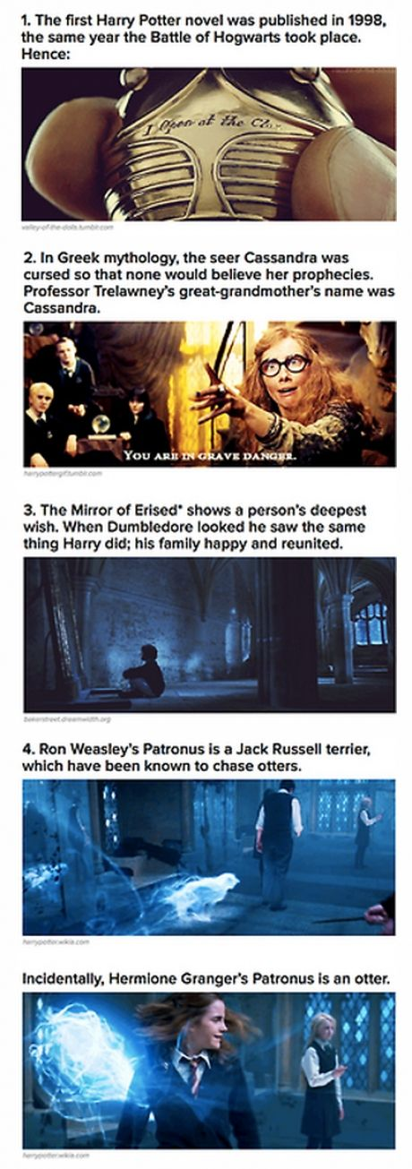 Harry Potter Facts! Upvote for More