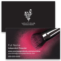 Carte De Visite Younique Vistaprint Printed Products Welcome To The Party Mascara Business Cards