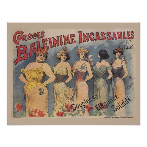 Vintage French Lingerie Wedding Shower Invitations