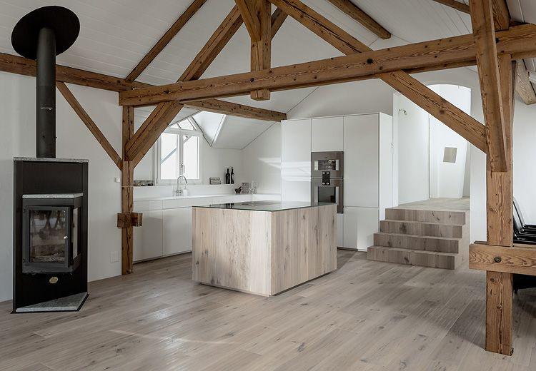 Kundenfeedback aus der Schweiz Naturholzboden in der Küche - Parkett In Der Küche