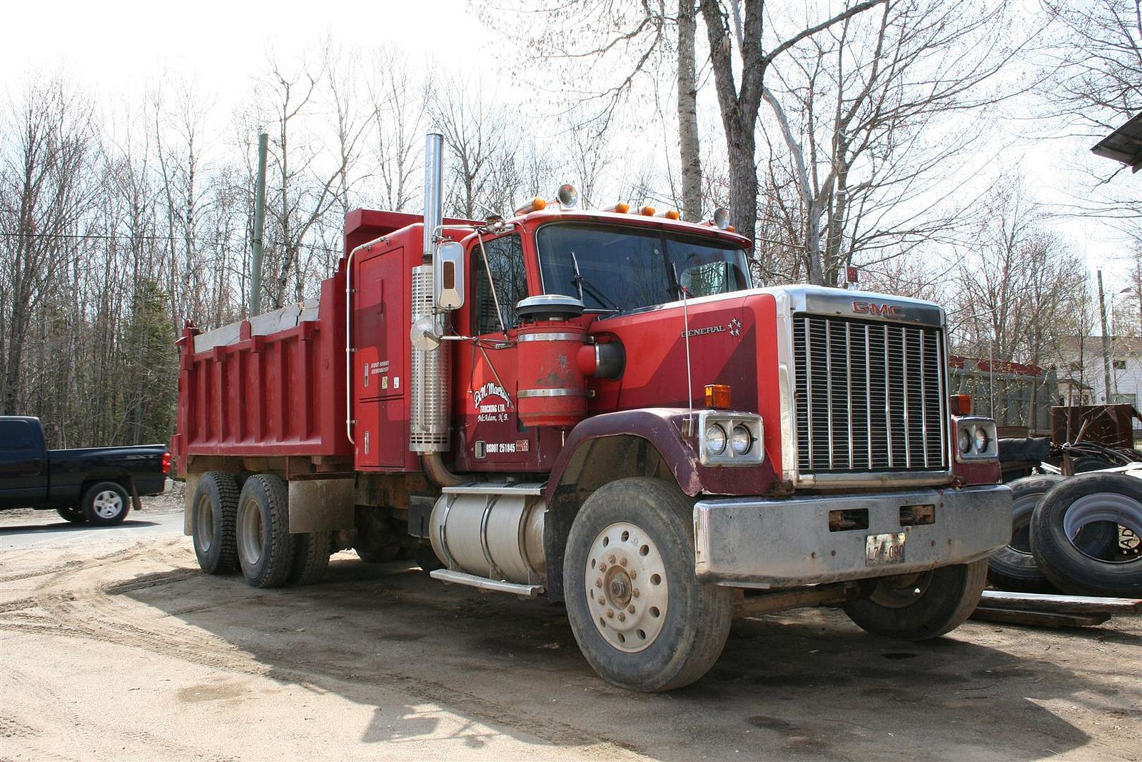 Dompeur Gmc General Dumptruck Dump Trucks Truck Transport Gmc
