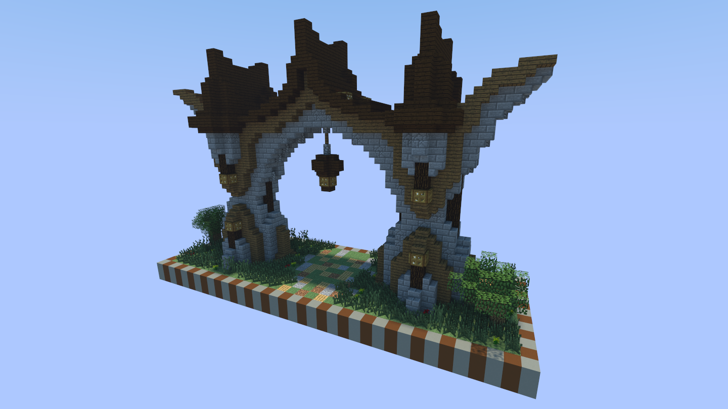 I Don T Have A Bridge But I Have An Archway Minecraft Statues Minecraft Blueprints Minecraft Designs