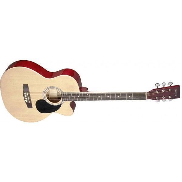 Challenge Ch Sa20ac Acoustic Auditorium Cutaway Guitar Guitar Acoustic Cool Guitar