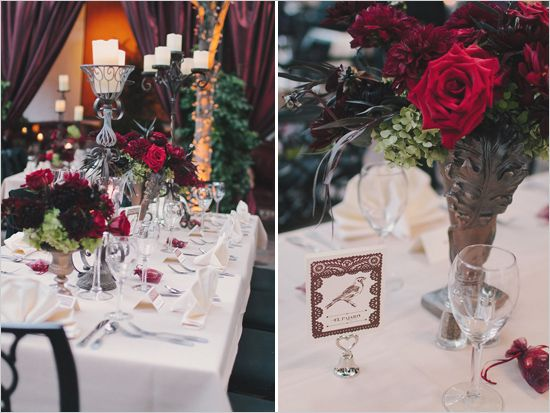 Latin Wedding Elegant Table Decor Ideas