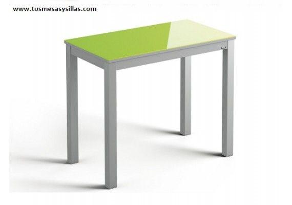 Venta online mesa extensible pequeña de cocina con fondo de 45 y 50 ...