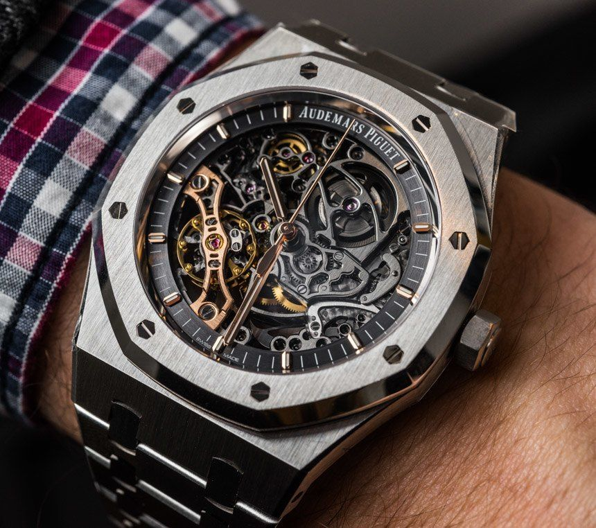 ebabcd1b29 Audemars Piguet Royal Oak Double Balance Wheel Openworked Watches Hands-On