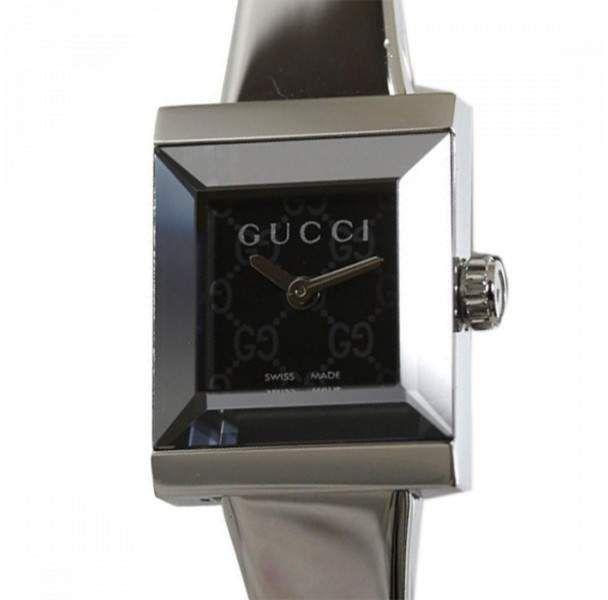 444e0a8d479 Gucci G Frame 128.5 Stainless Steel Quartz 14mm Womens Watch ...