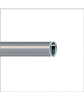 1 1 8 Diameter Stainless Steel Or Aluminum Curtain Rods Curtain