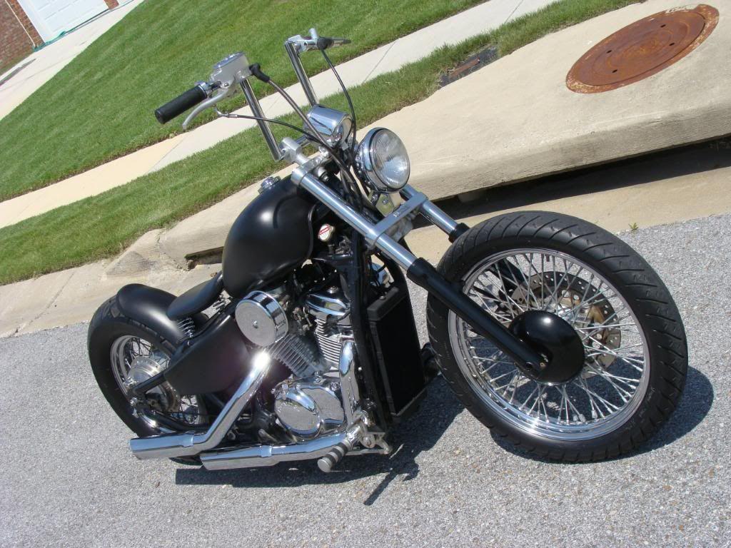 Anyone Have A Honda Shadow VLX 600 Bobber