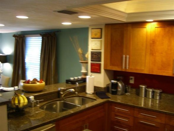 Remodeled Galley Kitchen, Our Kitchen Has A Large Pass