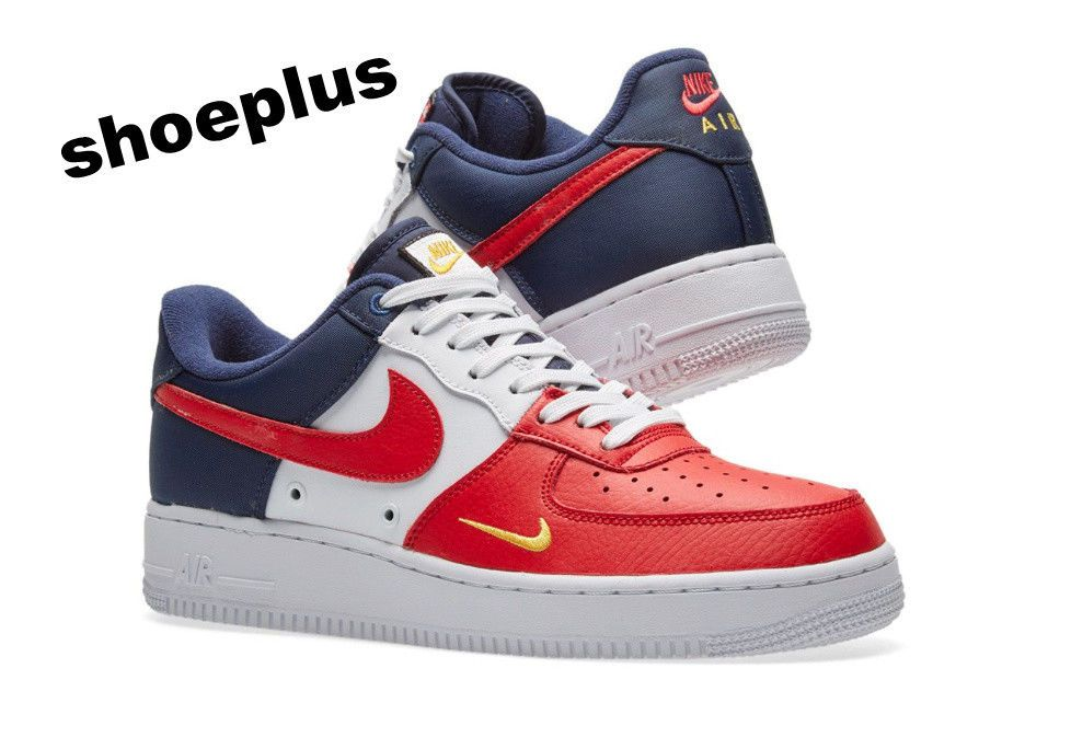 air force 1 rouge bleu blanc