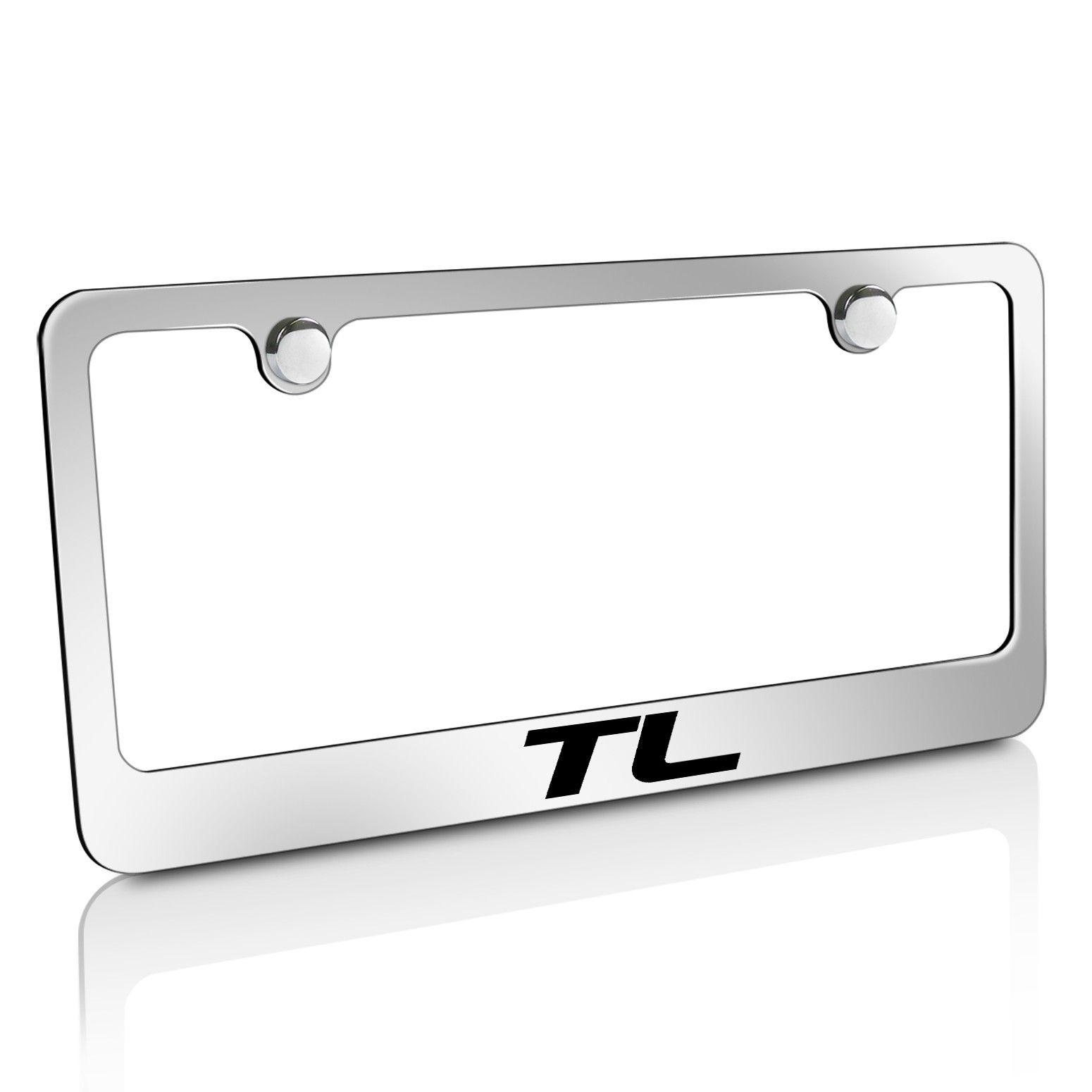 Laser Etched for Honda Fit Licensed Stainless Steel License Plate Frame