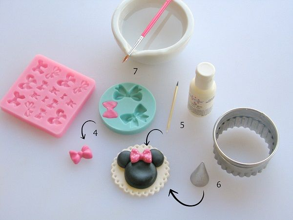 Minnie Mouse Cake Decorating Ideas + Topper Tutorial