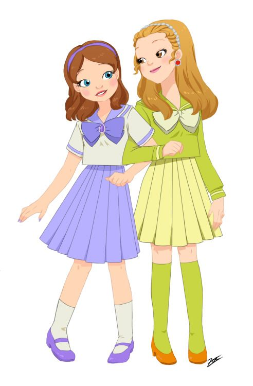 Princess Sofia and Amber