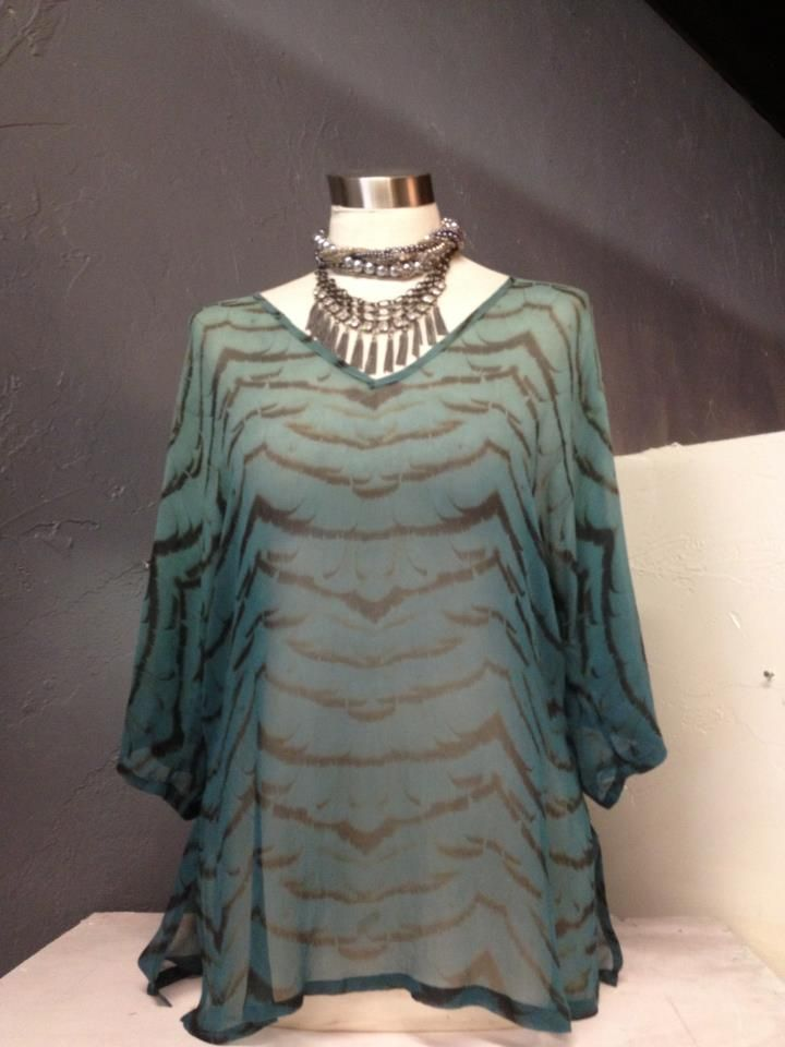Gypsy <3 Silk Top Available at Lula Blu Melbourne Fl