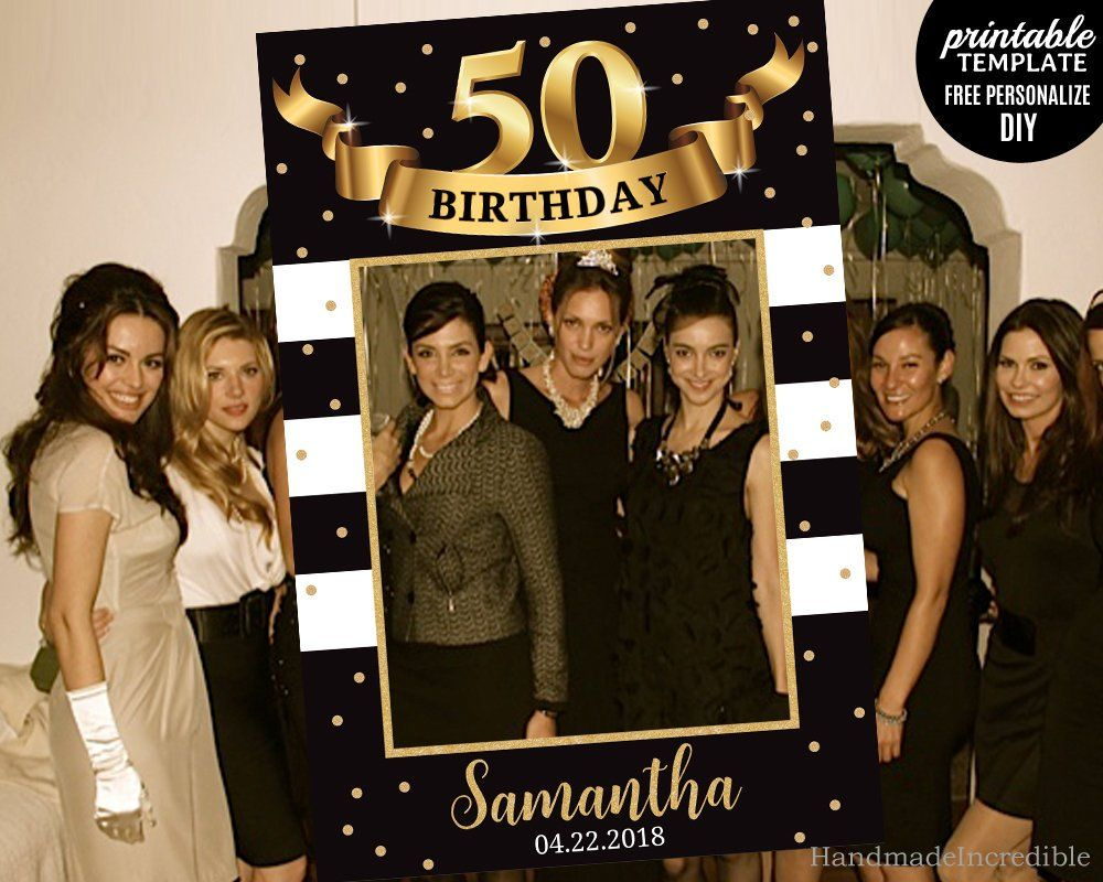 58 Vintage Photo Booth Props Birthday 30th 50th 60th 70th FUN Anniversary Party
