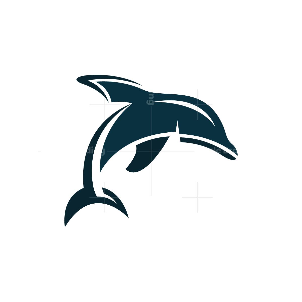 Dolphin Logo Dolphin Logo Shark Logo Dolphins
