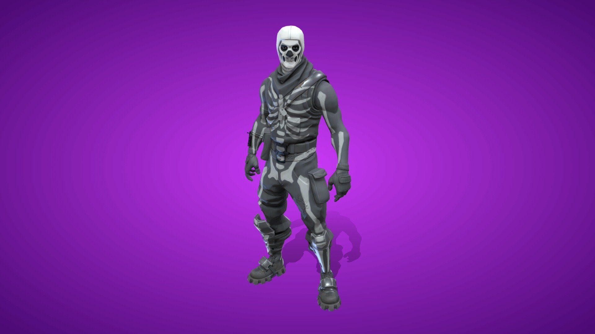 White Skull Trooper Png