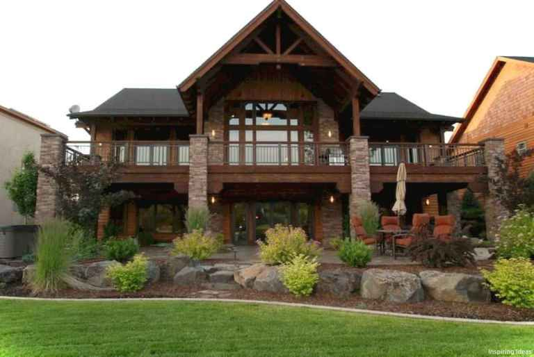Awesome Cottage House Exterior Ideas Ranch Style 17 In 2020 Basement House Plans Modern Lake House Lake Houses Exterior