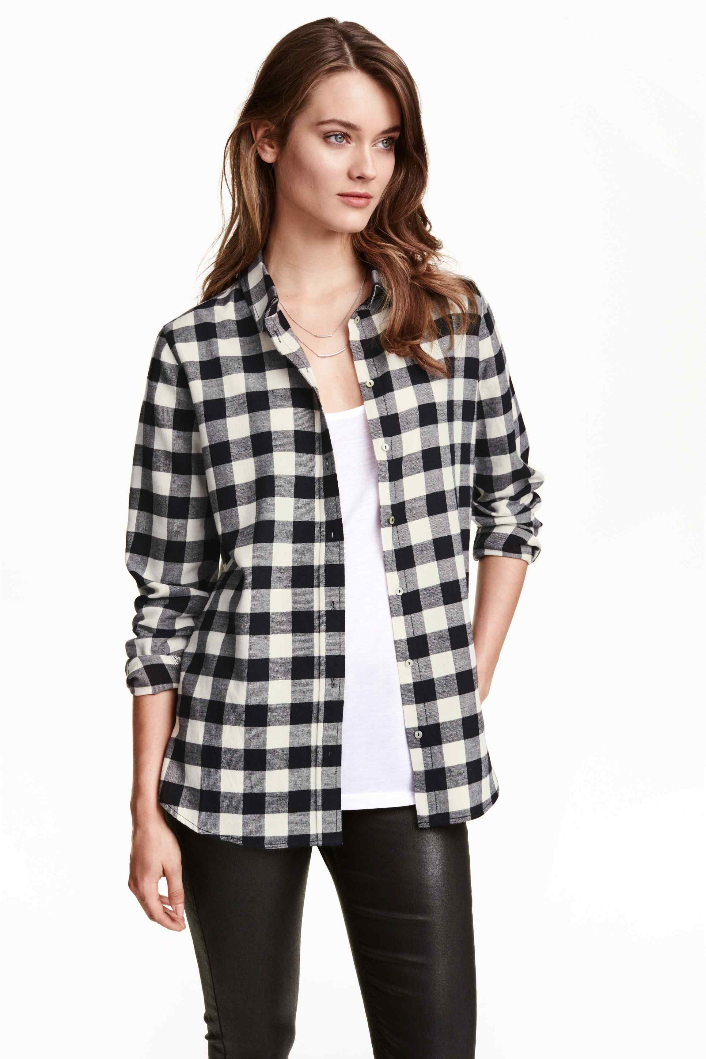 Flannel shirt outfits for women  Flanelowa koszula  HuM  Fashion  Pinterest  Flannels and Fashion