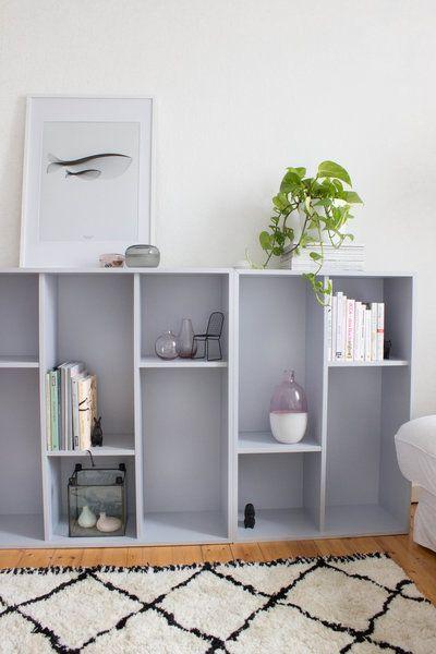 Magischer Stauraum u2013 10 kreative Ikea-Hacks für mehr Ordnung in - deko wohnzimmer regal