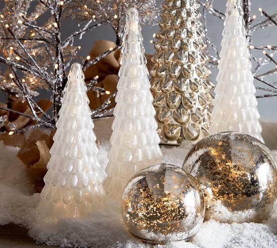Mercury Globes ☆Winter Wonderland☆ Pinterest Christmas