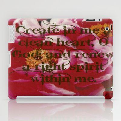 a new heart iPad Case by farah ariff - $60.00