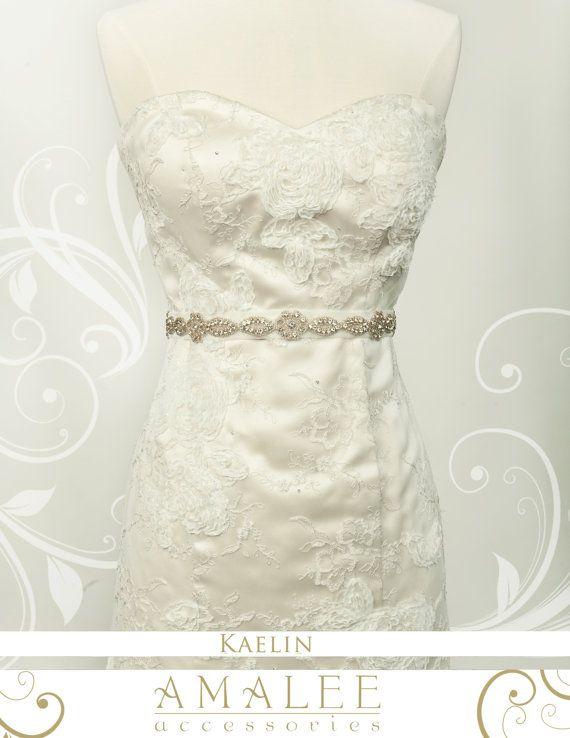 Bridal Belts / Bridal Sash  by Amalee Bridal Accessories, $99.00  amaleebridalaccessories.com