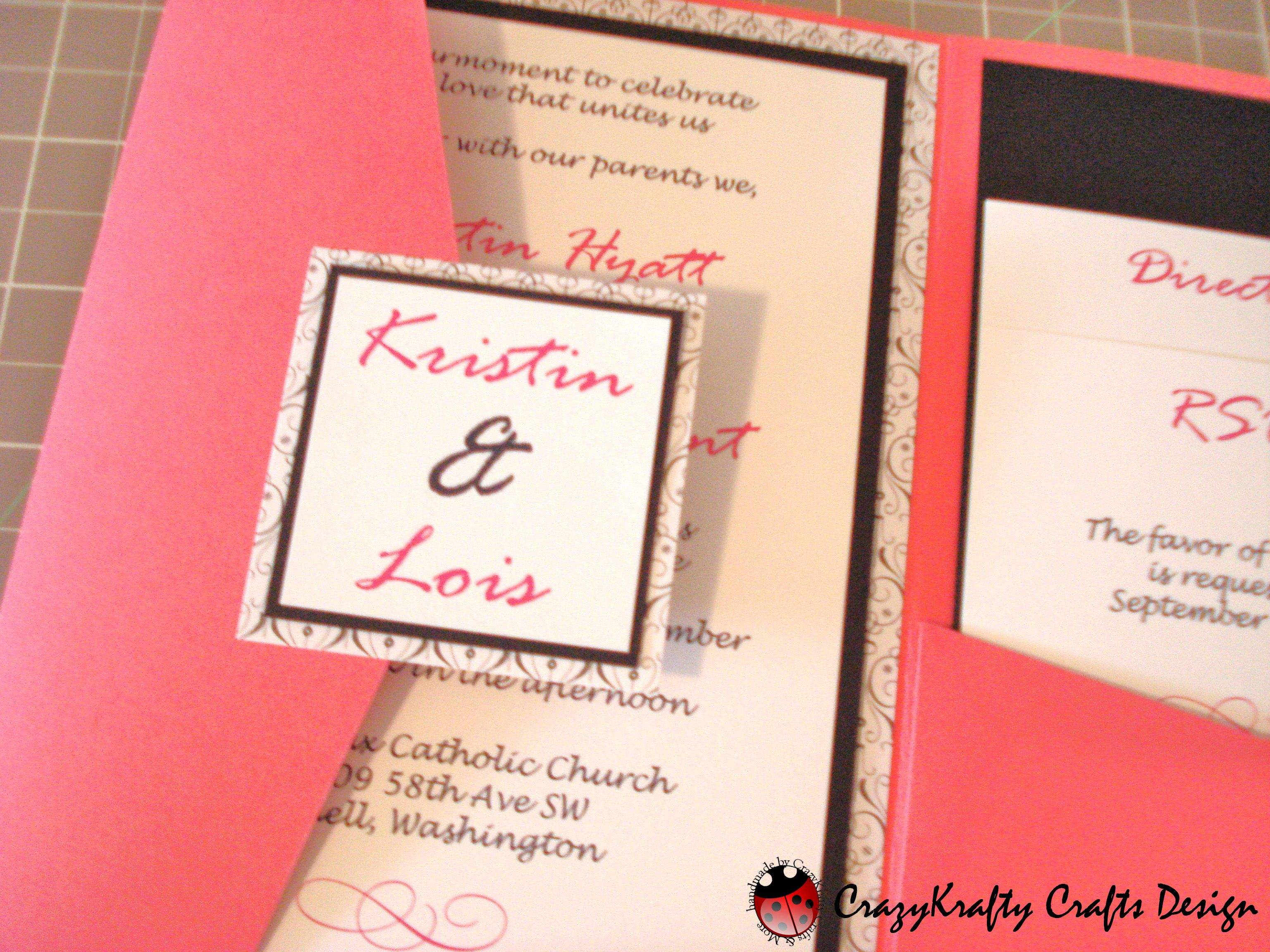 Customizable Wedding Invitation Templates: Wedding Card. Wedding Invitation Design Cricut Pocket
