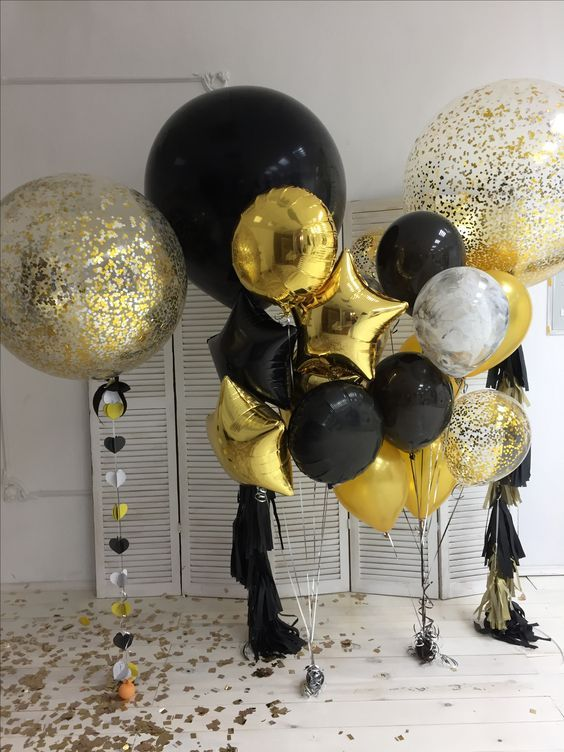 50 Amazing Diy New Year S Eve Balloon Decor Ideas Festa De