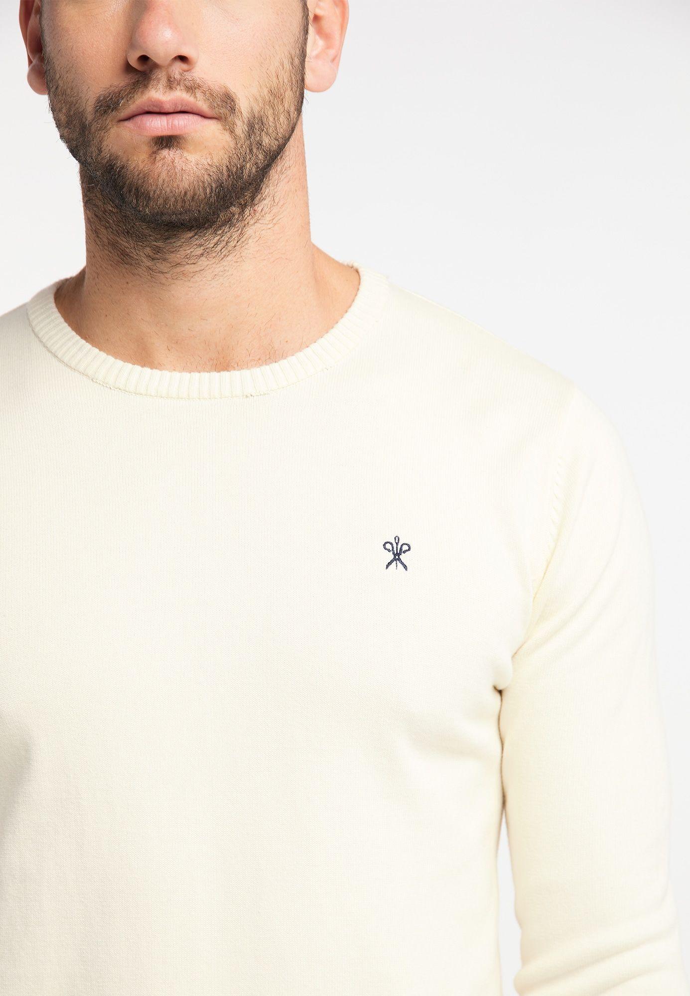 DREIMASTER Pullover Herren, Beige, Größe XL