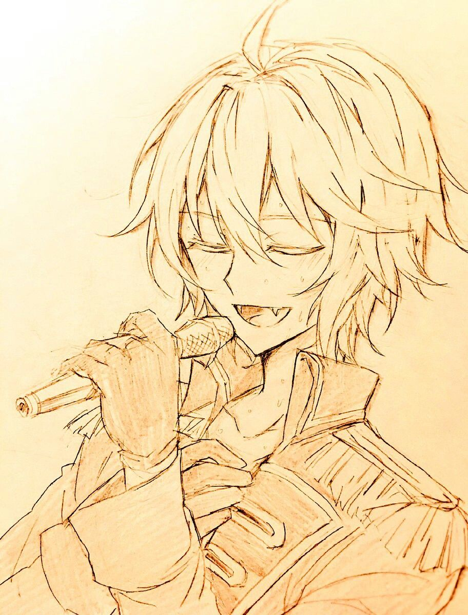 Ono Kensho (Mika's seiyuu) has a really beautiful voice <3 <<< This Mika fan art is beautiful