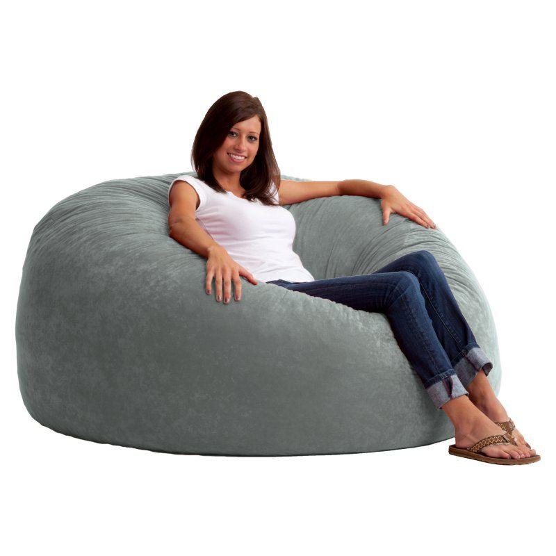 Fuf 5 Ft King Comfort Suede Bean Bag Sofa 0005176 Products Pinterest Bean Bag Bean Bag Chair And Sofa