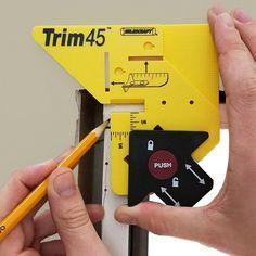 Milescraft Trim45 Trim Carpentry Aid-8401 - The Home Depot