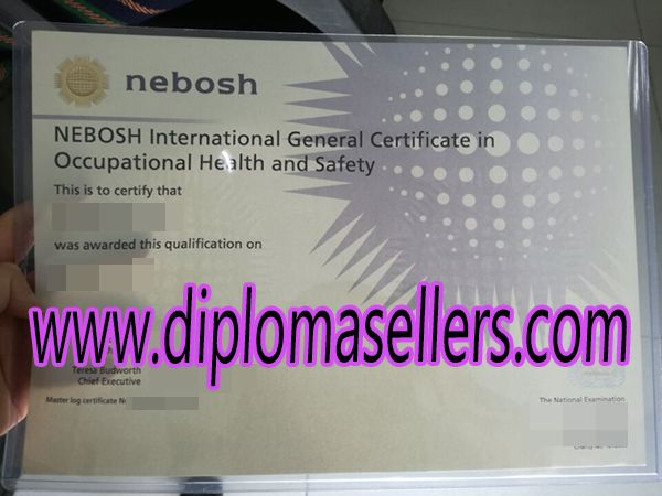 Buy NEBOSH IGC Certificate How To A Degree Diploma Fake Where Order