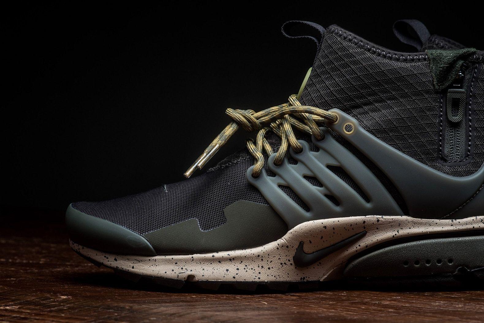 "08df0d21a8aa Nike Air Presto Mid Utility ""Velvet Brown Cargo Khaki"""